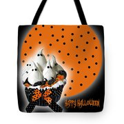 Halloween Ghost Cupcake 2 Tote Bag