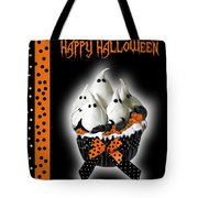 Halloween Ghost Cupcake 3 Tote Bag