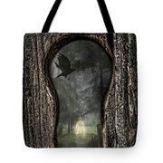 Halloween Keyhole Tote Bag by Amanda Elwell