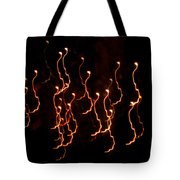 Halloween Light Creatures Tote Bag