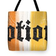 Halloween Potions Sign Tote Bag by Linda Woods