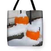 Halloween Snow Tote Bag