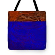 Halloween Specter Orange Tote Bag