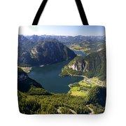Hallstatt Lake Austria Tote Bag