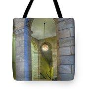 Hallway New York Public Library Tote Bag
