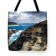 Halona Blowhole Lookout- Oahu Hawaii V2 Tote Bag