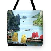 Halong Bay Sails 01 Tote Bag