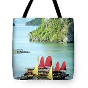 Halong Bay Sails 02 Tote Bag