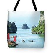 Halong Bay Sails 03 Tote Bag