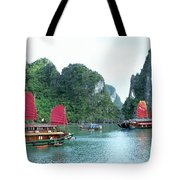 Halong Bay Sails 04 Tote Bag
