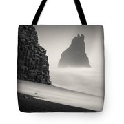 Halsenifs Hellir Sea Stack Tote Bag