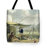 Halt Of A Boors Family, Plate 17 Tote Bag