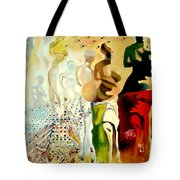Halucinogenic Toreador By Salvador Dali Tote Bag by Henryk Gorecki