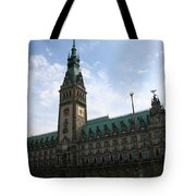 Hamburg - City Hall - Germany Tote Bag