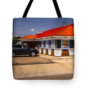 Hamburgers And Ice Cream Tote Bag