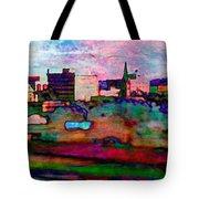 Hamilton Ohio City Art 10 Tote Bag