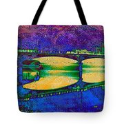 Hamilton Ohio City Art 6 Tote Bag