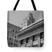 Hamilton Ontario Architecture  Main And James Tote Bag