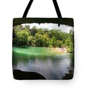 Hamilton Pool Cave Tote Bag