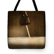 Hammer And A Nail Tote Bag