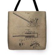 Hammer Patent Drawing Tote Bag