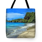Hamoa Beach At Hana Maui Tote Bag