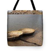 Hampi River Scenes Tote Bag