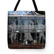 Hampshire County Cricket Glass Pavilion Tote Bag