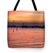 Hampshire Sunset Tote Bag