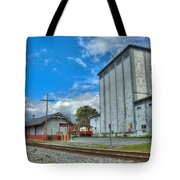 Hampstead Train Station And Grain Mill Tote Bag