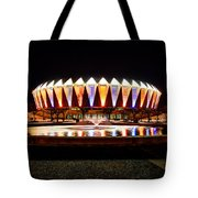 Hampton Coliseum Christmas Tote Bag