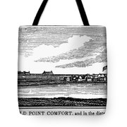 Hampton, Virginia Forts Tote Bag