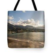 Hanalei Bay Pier - Kauai Hawaii Tote Bag