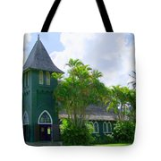 Hanalei Church Tote Bag