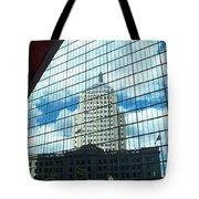 Hancock Towers Tote Bag