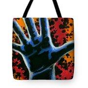 Hand 2 Tote Bag