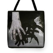 Hand At The Children Of Lir Statue, Dublin Tote Bag