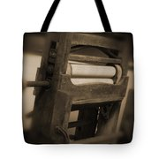 Hand Clothes Wringer Tote Bag by Mike McGlothlen