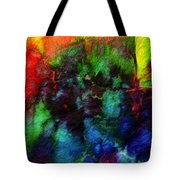 Hand Dyed 5 Tote Bag