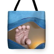 Hand In A Bag Tote Bag