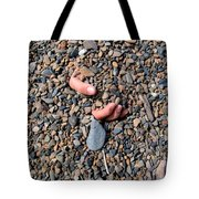 Hand In Gravel Tote Bag by Stephan Pietzko