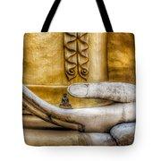 Hand Of Buddha Tote Bag