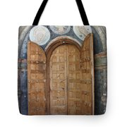Hand-painted Gate Tote Bag