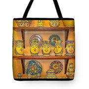 Hand-painted Souvenir From Sicily Tote Bag