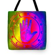 Hand Signs Tote Bag