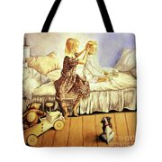 Hands Of Devotion - Childhood Tote Bag