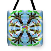 Hands Of Nature Tote Bag