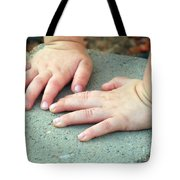 Hands Of Our Future Tote Bag