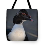 Handsome Muscovy Tote Bag