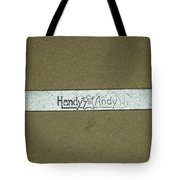 Handy Andy Wrench Tote Bag
